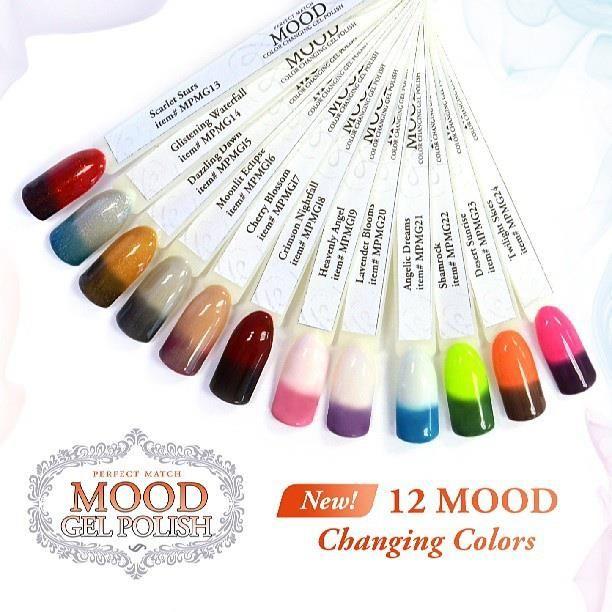 new moodgelpolish colors by LeChat