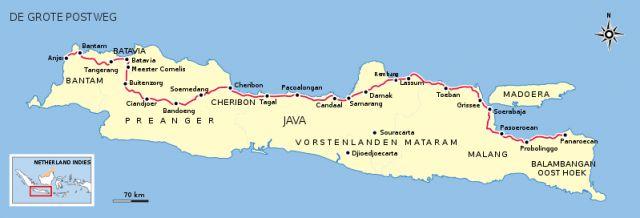 Jalan Anyer Panarukan (Jalan Raya Pos/Daendels) (BatikIndonesia.com)
