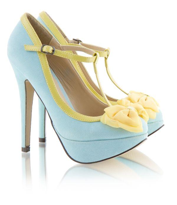 DeeZee: Cute Heels, Platform Heels, Shoes D, Color, Shoes Boots, Heels Shoes, Shoes レ, Bows Accent, Shoes Style