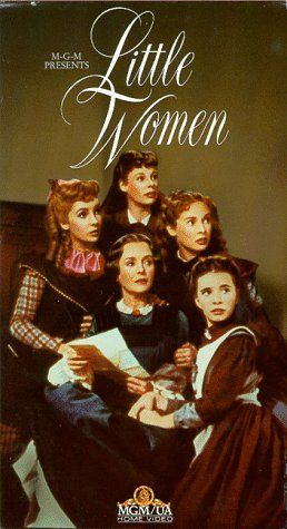 "Little Women (1949) movie begins at Christmas.  While walking to the general store, the sisters  sing a cheery tune: ""Merry Christmastime is here, The happiest time in all the year"""