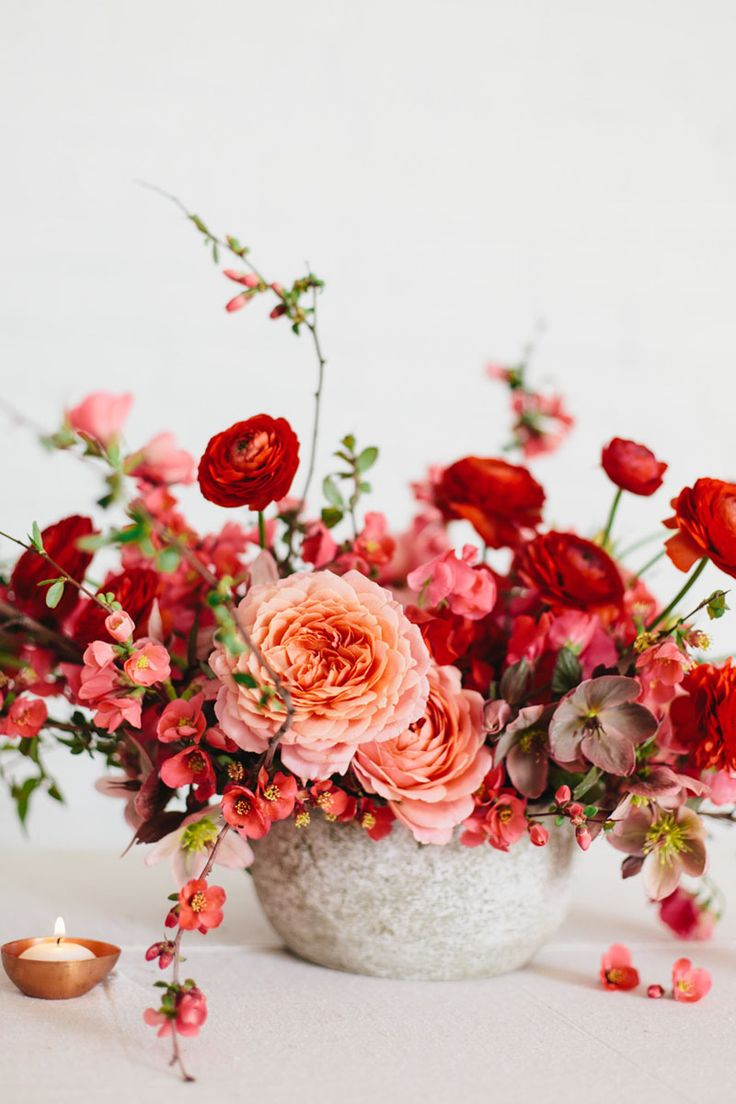 sarahwinward.com | One on one spring flower arranging with Sarah Winwad | Photo Kate Osborne