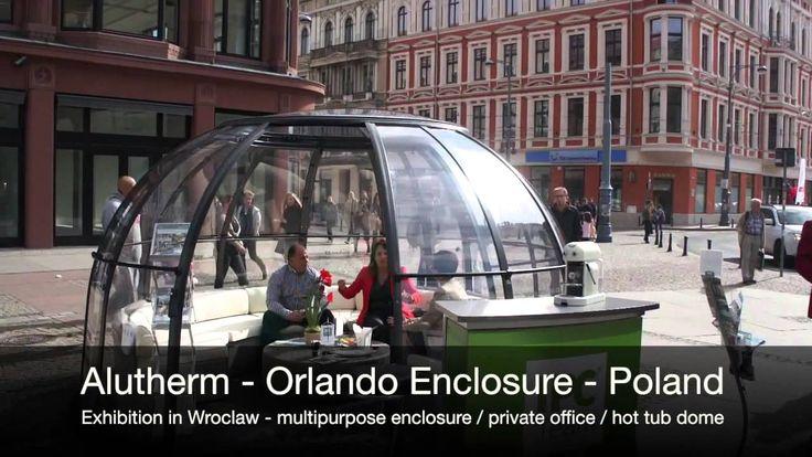 Polish festival and Alukov hot tub enclosure - private office