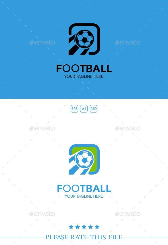Football  Logo Design Template Vector #logotype Download it here: http://graphicriver.net/item/football-logo/10250638?s_rank=1575?ref=nexion
