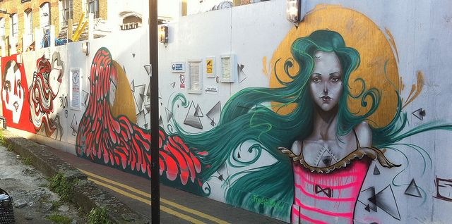 London Fields by Vanesa Longchamp, via Flickr #streetart #vanesaLongchamp #vlong www.vanesalongchamp.com