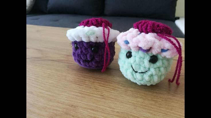 No 201 #Babeczka na szydełku 10k - Crochet cupcake, simply and fast