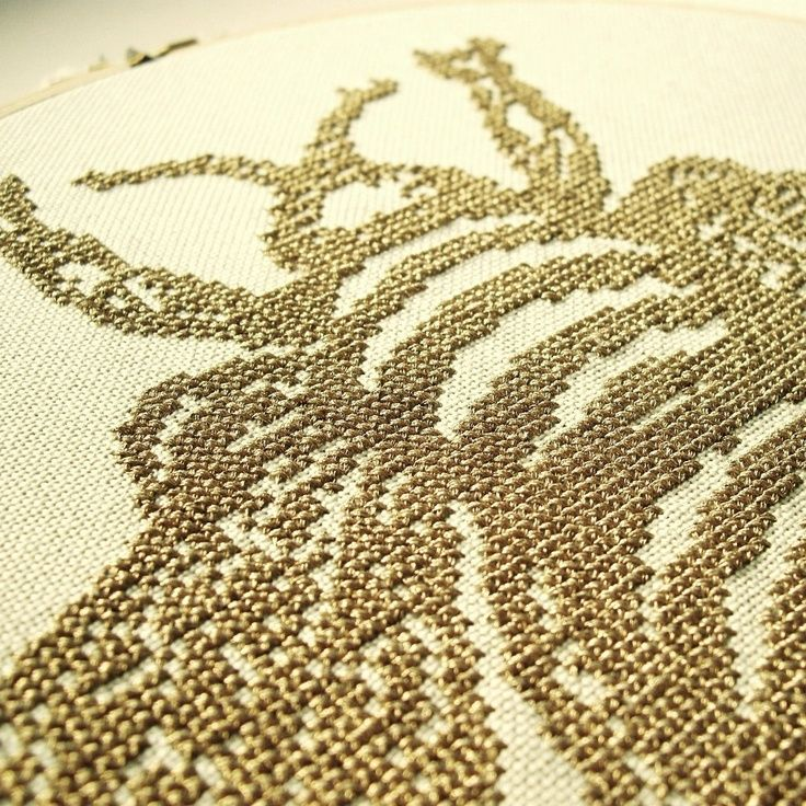 embroidery bee pattern | What Delilah Did. The Bee PDF Pattern.