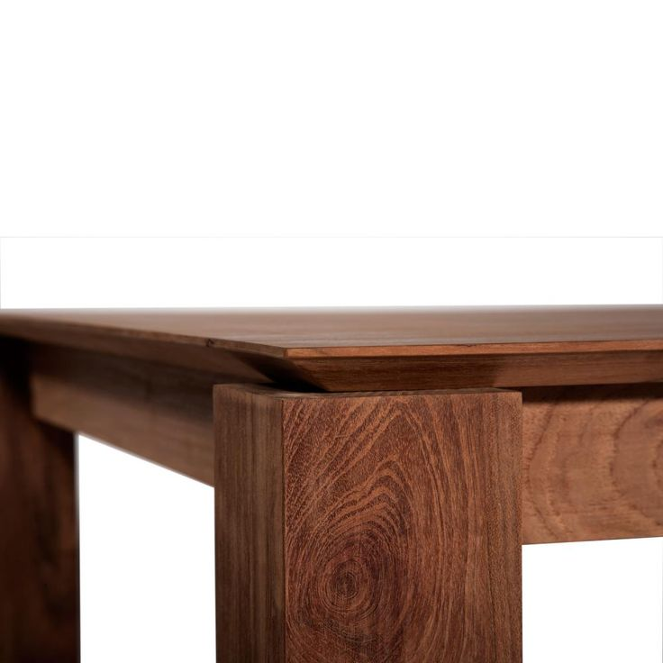 Ethnicraft Teak Slice Extension Dining Table By