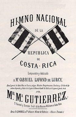 Símbolos patrios de Costa Rica - Wikipedia, la enciclopedia libre