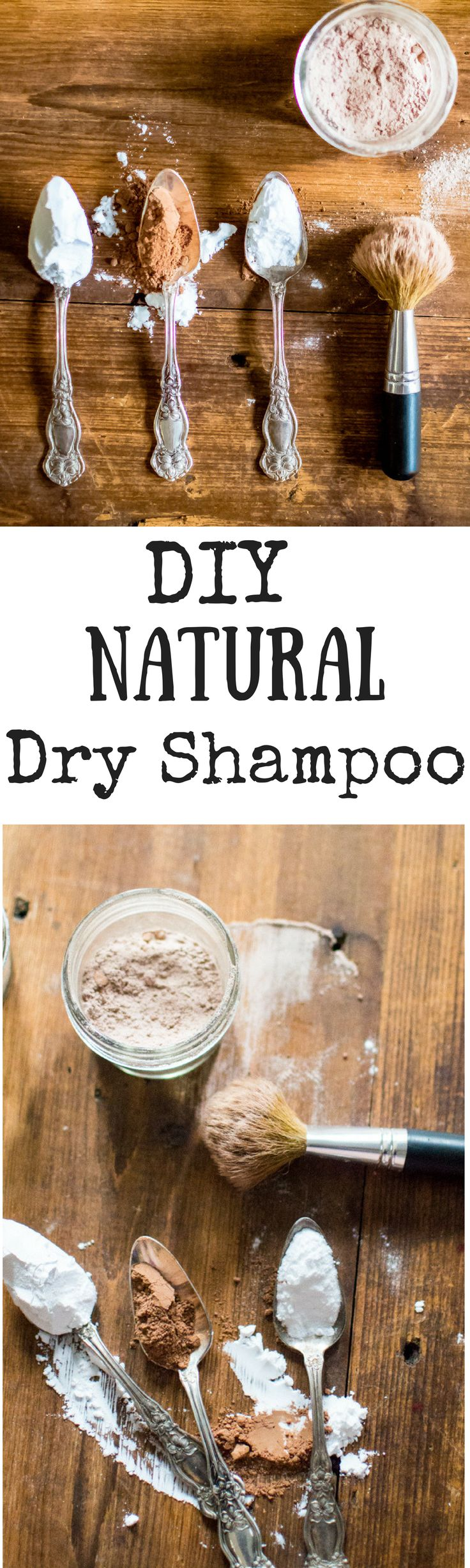 I don't know about you, but next to coffee and leggings, dry shampoo might just be the lifeblood of motherhood for me. And I've cooked up my own personal favorite easy DIY Natural Dry Shampoo recipe...with ingredients (like baking soda) just kicking arou