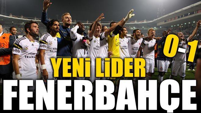 Yeni lider Fenerbahçe: 0-1