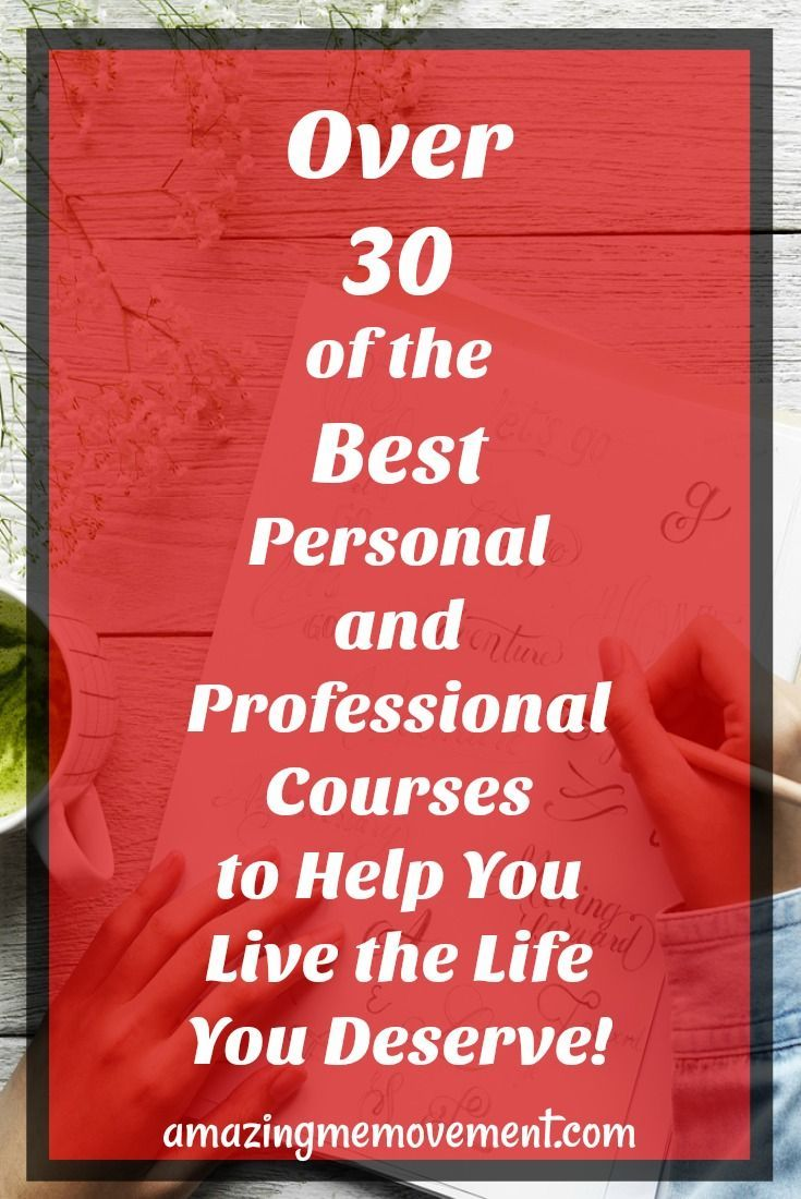 Over 30 of the Internet's BEST personal and professional development courses. #personalgrowth #successacademy #personaldevelopment #onlinesuccess #howtomakemoneyonline #onlinemarketingcourse #digitalcourse #marketingcourses