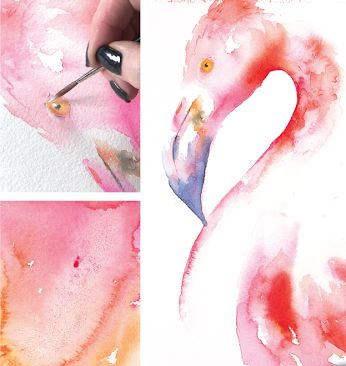 Break out of your normal painting routine with these watercolor workout tips!  #watercolor #jeanhaines