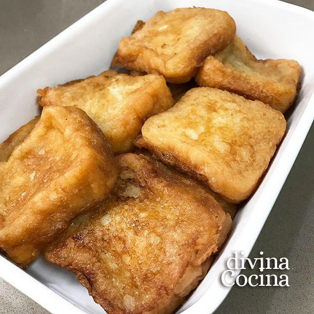 Con esta receta de torrijas sin azúcar te ahorras un montón de calorías sin perder sabor. La receta es la tradicional con algunas adaptaciones.
