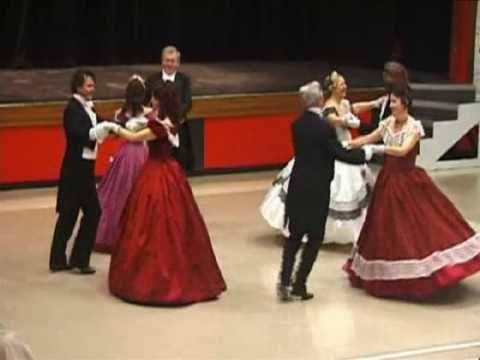Quadrille Club dancing the Beseda Quadrille