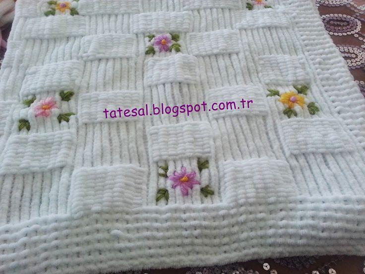 tatesal-kadife-iple-orgu-bebek-battaniyesi.jpg (1600×1200)