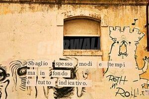 Star Walls - Scritte sui muri. — Verba Volant