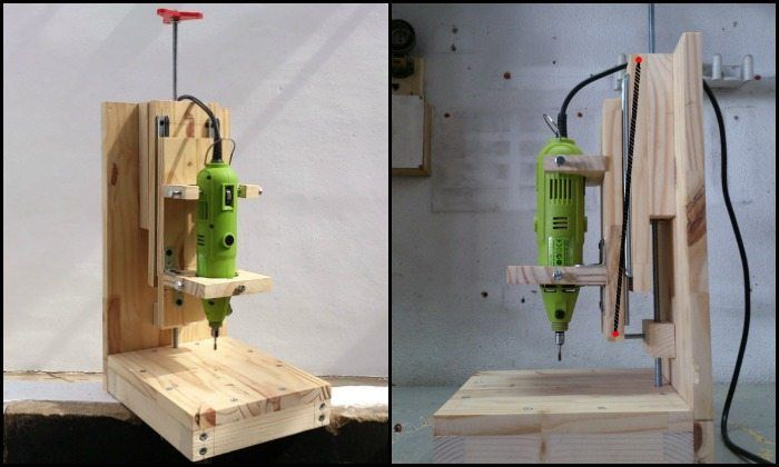 How to build a drill press for $20, Page 1