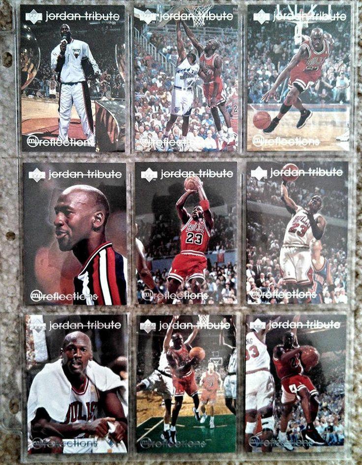 126 Different Michael Jordan Basketball & Baseball Cards - MINT CONDITION