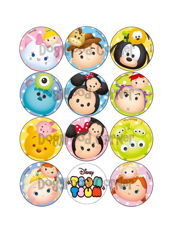 39 best Tsum Tsum Party images on Pinterest Anniversary parties