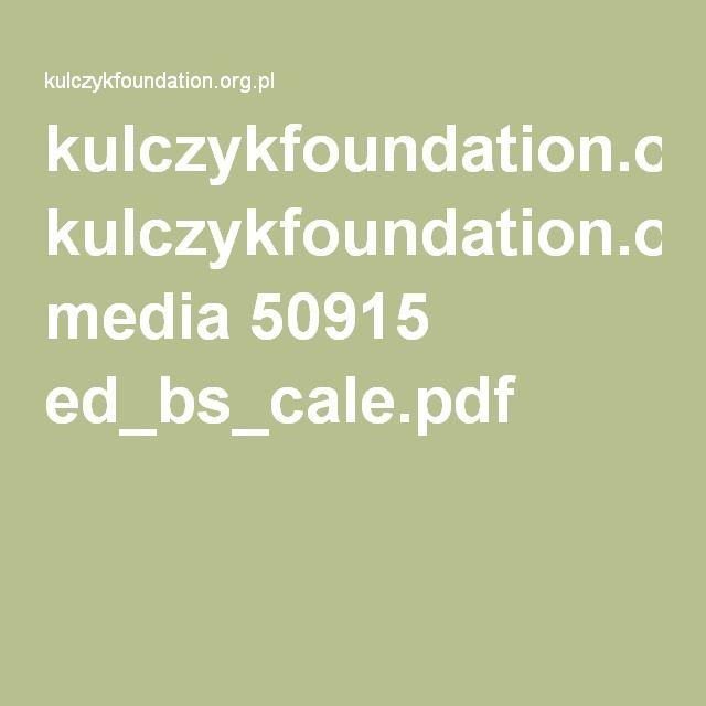 kulczykfoundation.org.pl media 50915 ed_bs_cale.pdf