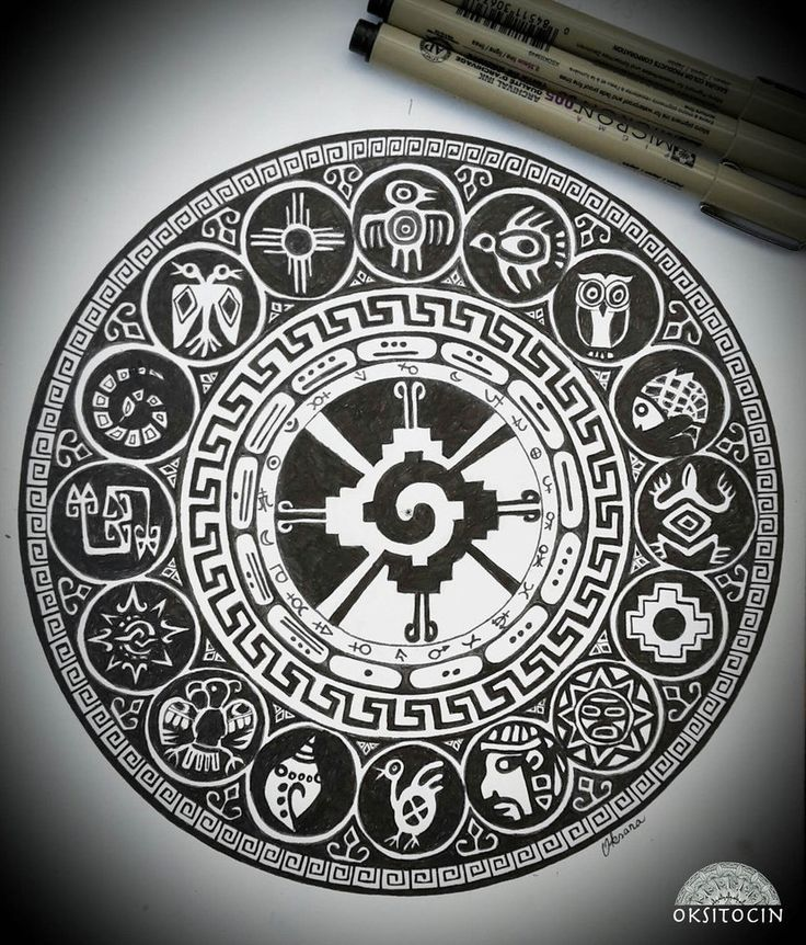 Inca Mandala by Oksitocin                                                                                                                                                                                 Más