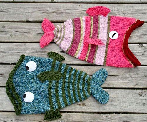 iKnitts: Patron para tejer un Gorro Big Fish (version crochet y a dos agujas)