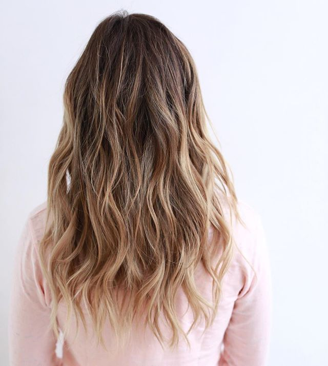 Long, graduated layers | back to school haircuts for fall
