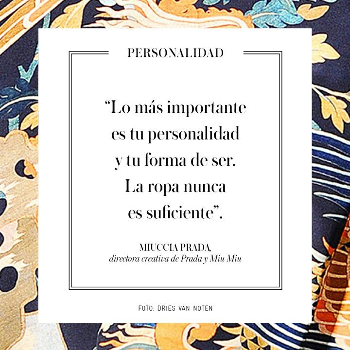 Miuccia Prada - El Palacio de Hierro - El Libro Amarillo