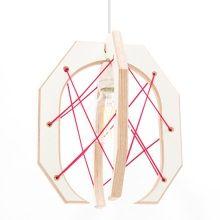 Studio Hamerhaai Hanglamp Grijper 22,5 cm - Roze