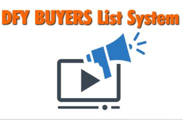 """DFY Buyers List System - Official Sellers Pack Review : Outstanding Technique to Grab PLR Into HIGH Converting """"Fill-In-The Blanks"""" Video Sales Letter Script That Has Allowed you To See Consistent $100 - $700+ Days Selling I.M./M.M.O Products Online And Go FULL-FORCE & Grow a LIFE Changing, JOB Replacing profits Stream For You – By Gavin Birchall."""