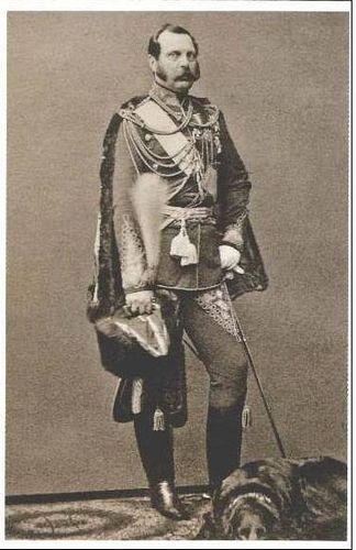 Zar Alexander II. von Russland, Czar of Russia | by Miss Mertens