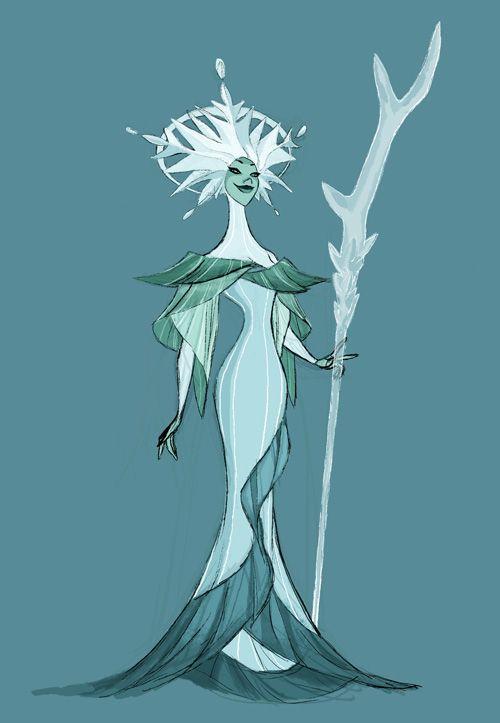 My Visual Development Work from Frozen - Part 1