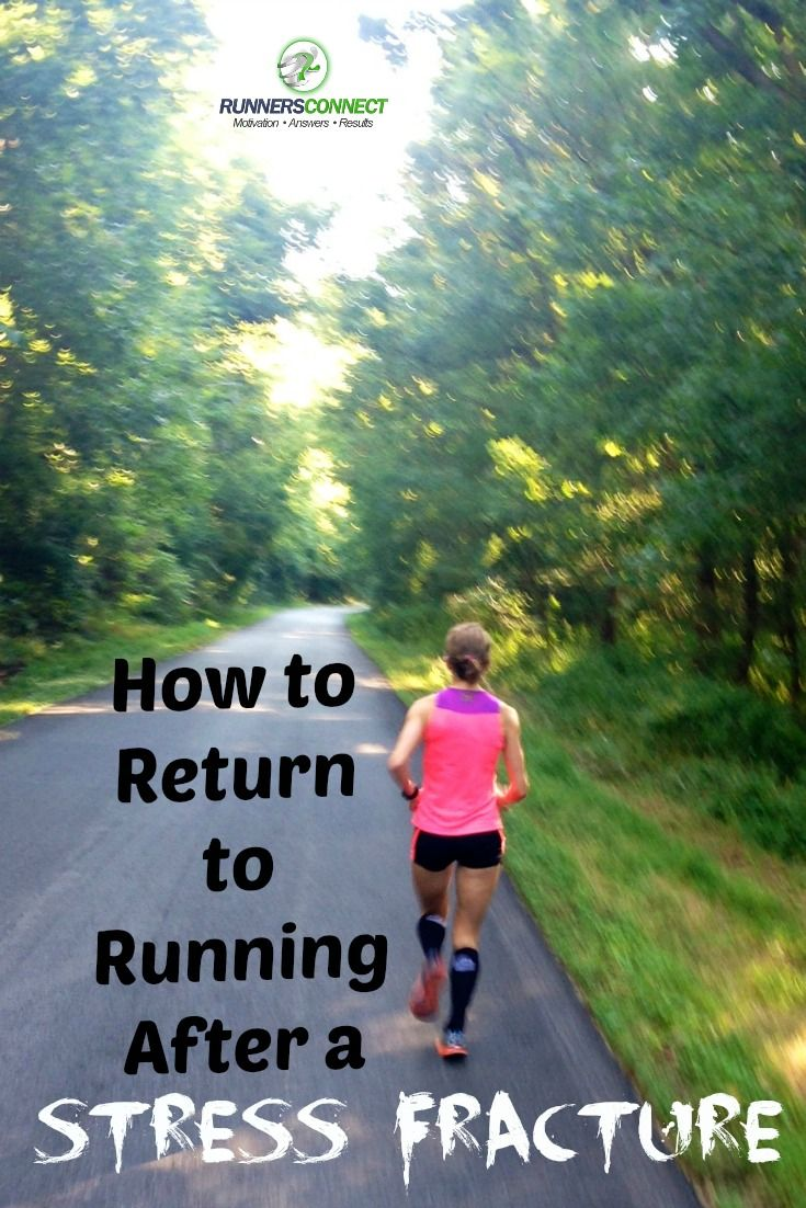 Returning to running after a stress fracture requires patience and an understanding of the physical and mental challenges you'll face.