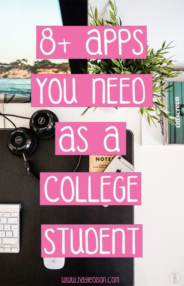 8 Apps you NEED as a College Student | Hayle Olson | http://www.hayleolson.com