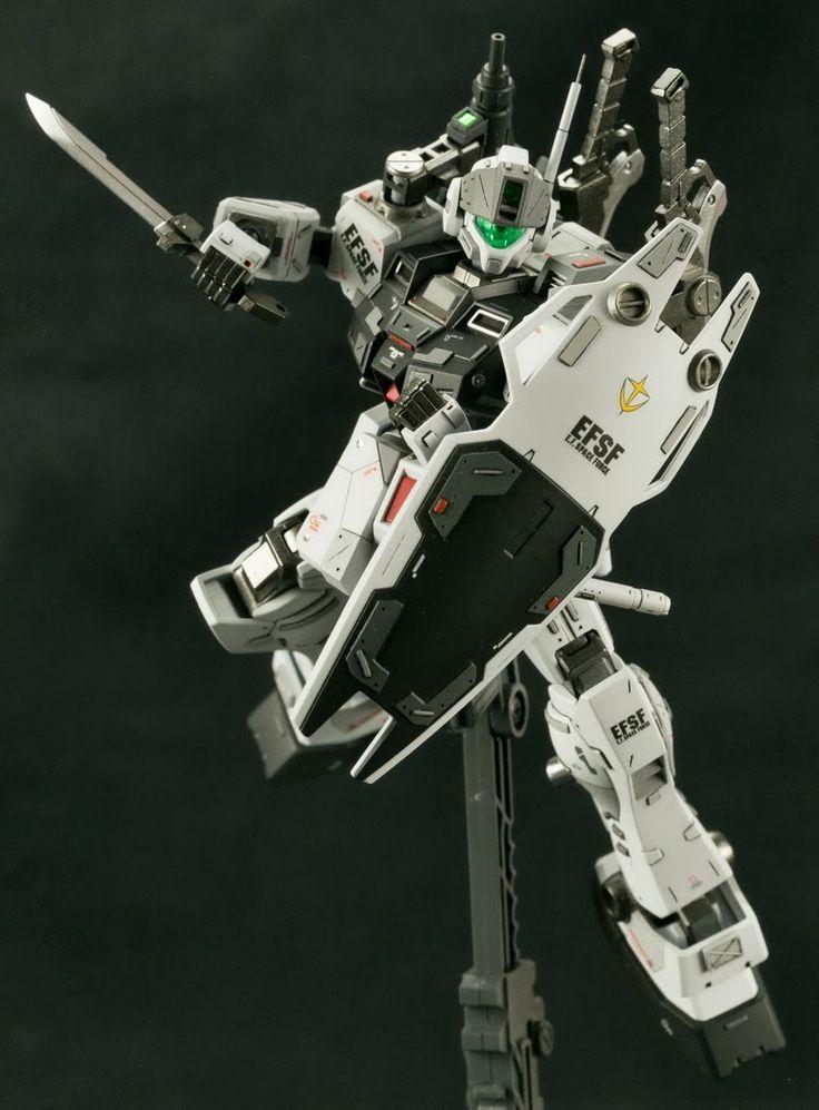 HGUC 1/144 GM Sniper II Custom - Customized Build   Modeled by Zerg