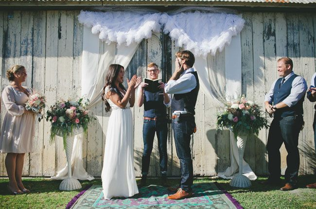 Cayucos Creek Barn Wedding: Dayna + Cory