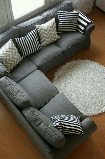 M s de 25 ideas incre bles sobre sof s de color gris for Sofa modular gris