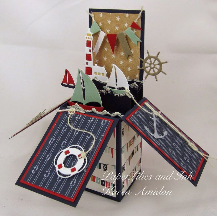 PaperLilies and Ink: IMPRESSION OBSESSION ~ NAUTICAL BOX