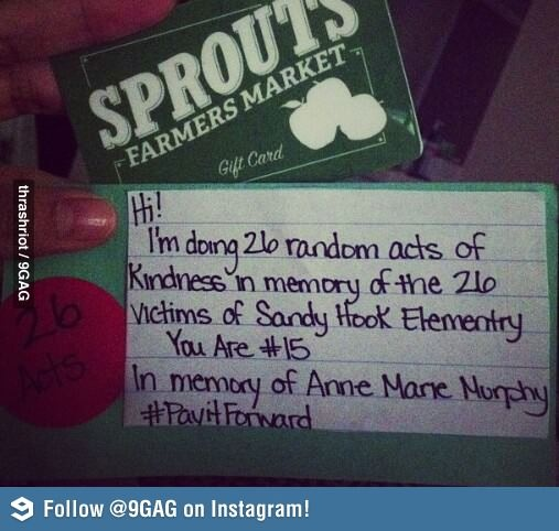 40th Birthday Random Acts Of Kindness: 37 Best Images About Pay It Forward On Pinterest