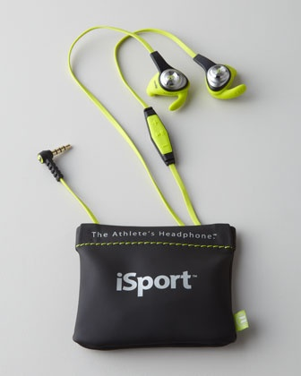 """For Father's Day: """"iSport"""" Intensity Headphones by Monster at Neiman Marcus."""