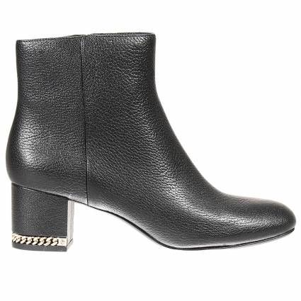 Ankle boots Michael Kors | #fashion #woman #black #gold #shoes