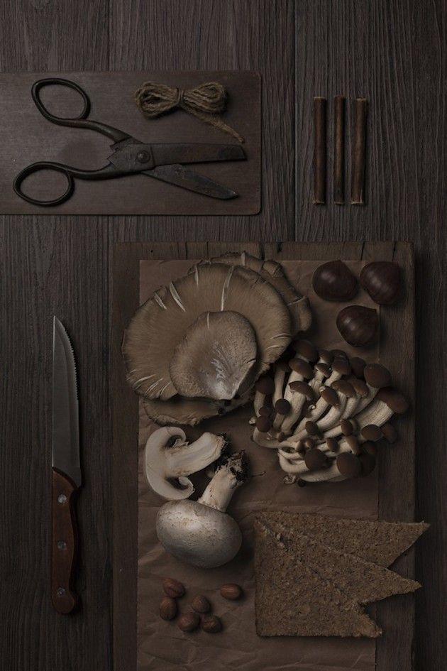 Monochromatic Food Photography | Isabella Vacchi