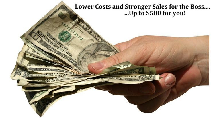Lower Costs and Stronger Sales for the Boss! Up to $500 for You! http://tireinventorysolutions.com/