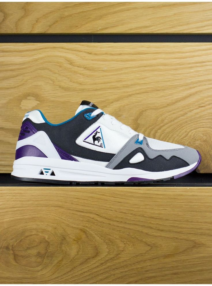 Le Coq Sportif LCS R 1000 Optical White - vintage style made new. Man,