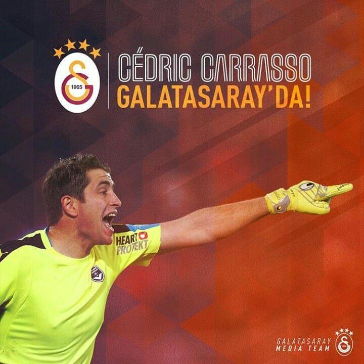 Hoşgeldin! #cedric #carrasso #galatasaray