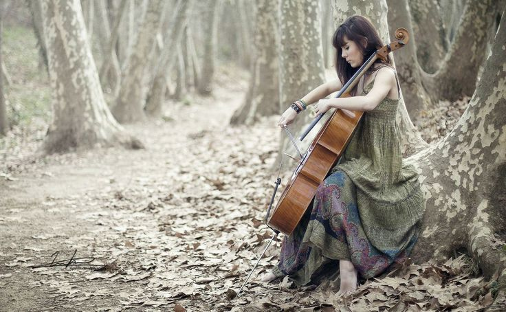 Musician women are nearest to God! From: Unknown.