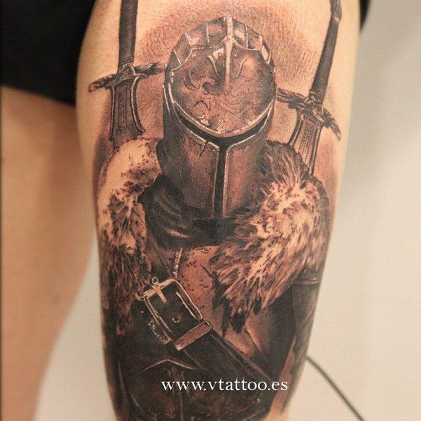 """@vtattoo's photo: """"By Miguel Bohigues ...un guerrero con ganas de ser creado por mi aguja..."""""""
