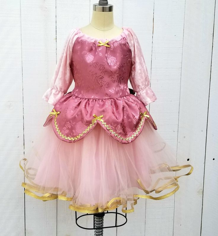PINK PRINCESS dress, blush pink and gold dress, pink Princess dress, toddler girls dress, blush velvet dress for girls, rose pink dress by loverdoversclothing on Etsy