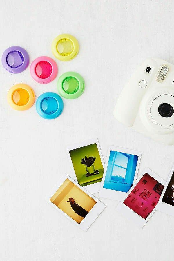 2a82fa820a18 Polaroid color changing lens | poleroed | Mini camera, Instax mini ...