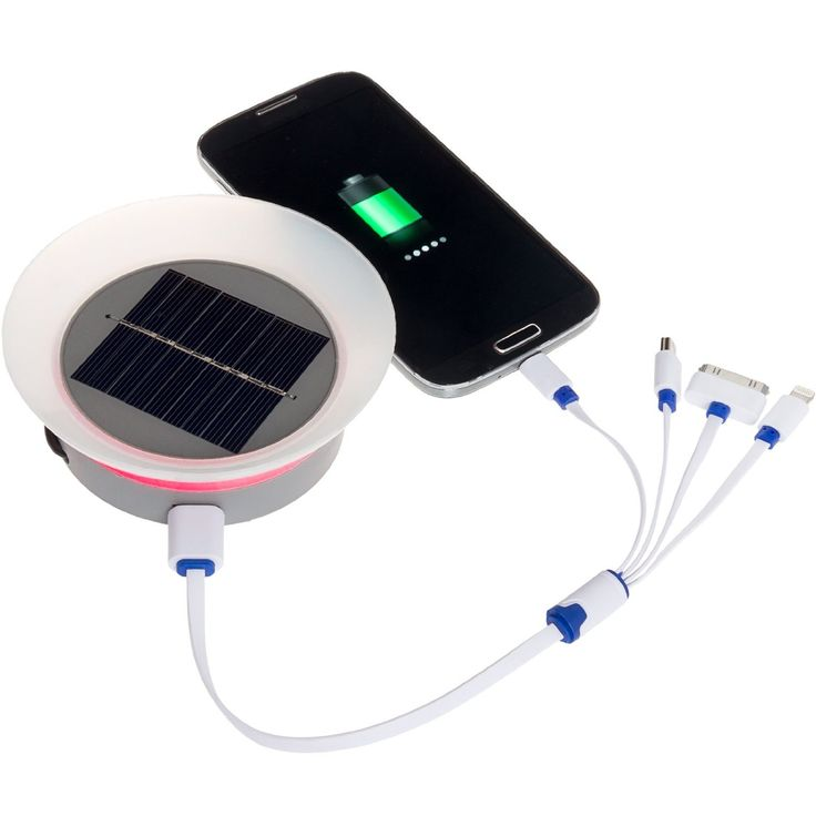 Amazon.com: GreenLighting Solar Phone Charger - 2000mAh Window Cling Power Bank…